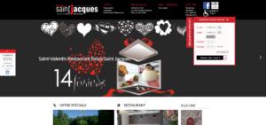 Création site internet du Relais Saint Jacques